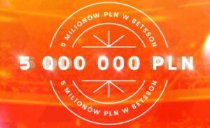 5 milionów w Betsson